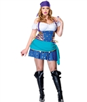 Wholesale Plus size Gypsy Princess Costume