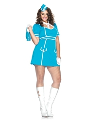 Wholesale Plus size Classic Flight Attendant Costume