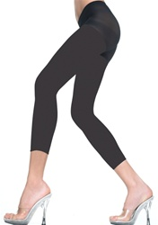 Opaque capri leggings