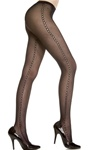 Seamless side crotchet pantyhose