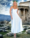 Athenian Goddess Long Gown