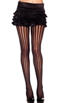 Wholesale Pin striped sheer pantyhose