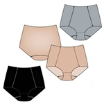 Wholesale Laser cut lightweight microfiber brief