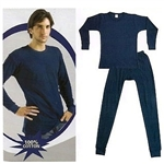 Wholesale 100% Cotton thermal set for men