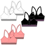 Work it out - Seamless sports bra w/removable pads