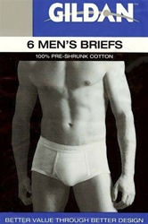 GILDAN Mens Basic Brief
