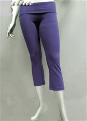 Wholesale Cotton Lycra Yoga capri