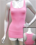 Wholesale Ribbed Cotton spandex racerback tank top