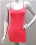 Wholesale Full length Cotton spandex Camisole top with adjustable straps