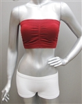 Seamless Tube Bra Top with removable pad