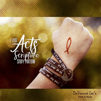 Acts Combo 1: ***PRE-ORDER ONLY*** Bible Memory Cd & Scripture Study Portion CDs