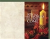 Joy To The World Christmas Bulletins (pkg.100).  Save 20%