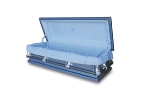 56 Youth Blue - 20 Gauge Gasketed Casket