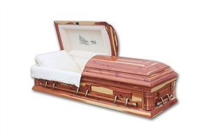 Carolina Cedar - Solid Cedar Wood Casket