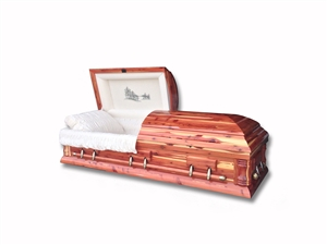 Heartland - Cedar Wood Casket