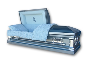 Noble - Stainless Steel Casket