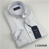 ZAZZI Oxford Casual Shirt In Solid Colours