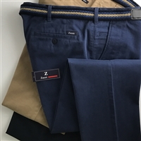 09-9233 ZAZZI Stretch Cotton Chinos - Regular Fit