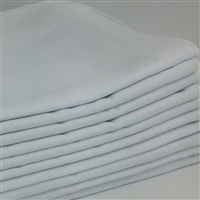 120 Pack White Handkerchiefs 120PK-WHITE