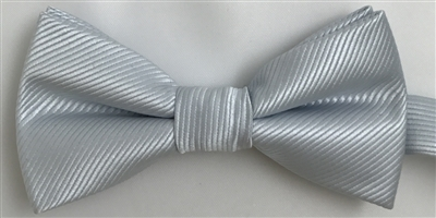 349 Silver Wedding Boy's Bow