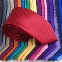 B1180 Montagu Solid Colour Diagonal Stripe Ties