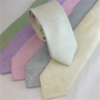 B1700 ZAZZI Paisley Wedding Tie