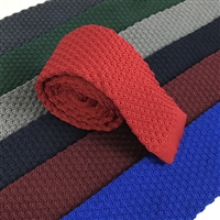 Honeycomb Stitch Knitted Ties