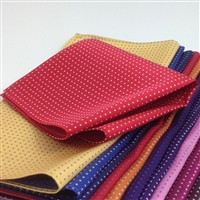 657 Silk Pin Dot Pocket Squares