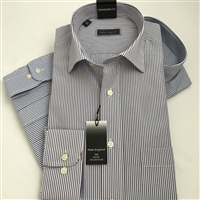 PE3459 Peter England Two Tone Striped Shirt