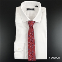 PE9050 Peter England Tailored Fit Solid Shirts