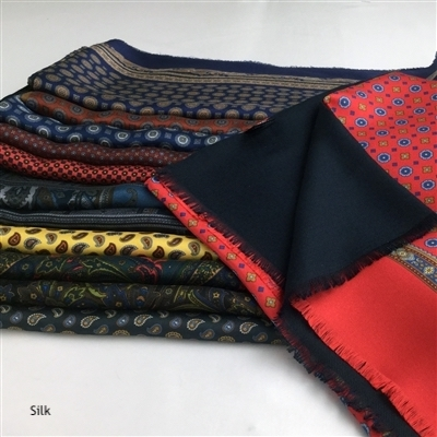 Reversible Silk Scarves