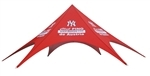 Star Shaped Event Tent