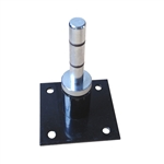 90 DEGREE FIXED WALL MOUNT W/ BALL BEARING SPINDLE