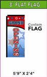 SMALL CUSTOM PRINTED BANNER FLAG
