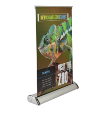 "Table Top Banner Stand 11.5""x17.5"" - 2 DAY SHIP"
