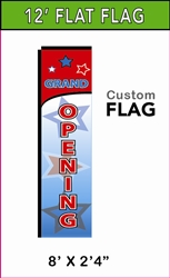 MEDIUM CUSTOM PRINTED BANNER FLAG
