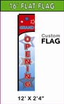 LARGE CUSTOM PRINTED BANNER FLAG