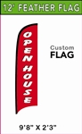 MEDIUM CUSTOM PRINTING FEATHER FLYING BANNER FLAG
