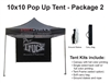 10 X 10 POP-UP EVENT TENT - PACKAGE 1