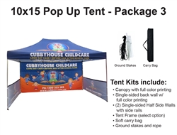 10 X 15 POP-UP EVENT TENT - PACKAGE 2