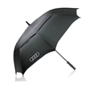 "30"" PROMOTIONAL RAIN AND SUN SHADE LOGO UMBRELLA"