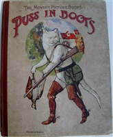 Antique Movable Book Puss In Boots - The Pictorial Moving Picture Books