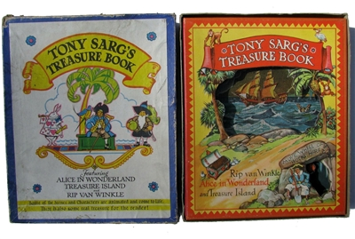 Tony Sarg's Treasure Book With original BOX