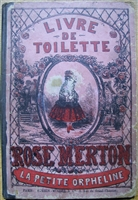 Antique Movable Book - Rose merton The only movable in the Dutch series of novelty dress books...........