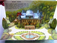 Kubasta castles pop-up book