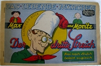 SOLD - Das Lebende Märchen - Max und Moritz - 1948 German movable book - CLICK IMAGE FOR INFO
