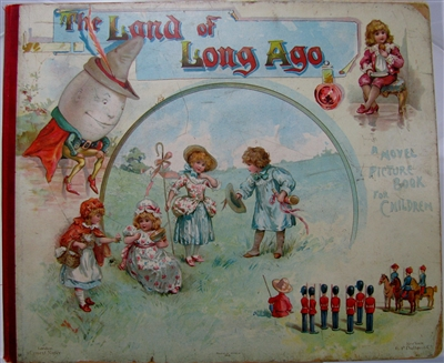 Large 1895 Pop-up Book - Pantomime Pictures - Fine
