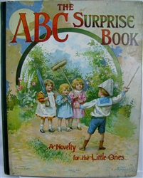 Nister - The A B C Surprise Book - Unusual type of Nister movable