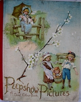 Antique pop-up book - Peepshow Pictures: A Novel Colour Book London: Ernest Niste