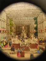 SOLD - Antique Peepshow - Telescopic View of the Great Exhibition, 1851